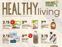 Cash Wise (Healthy Living - ND) Flyer