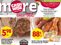 Cash Wise (more then a great deal - ND) Flyer