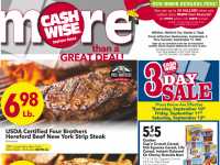 Cash Wise (Special offer - ND) Flyer