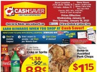 CashSaver (Special Offer - ABILENE) Flyer