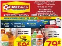 CashSaver (Special Offer - ODESSA) Flyer