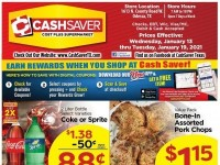 CashSaver (Special Offer - ODESSA) Flyer