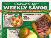 Central Market - Really into Food (Weekly Savor) Flyer