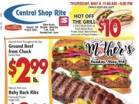 Central Shop Rite (Happy Mother's Day) Flyer