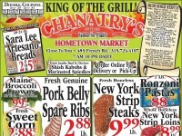 Chanatry's (King Of The Grill) Flyer