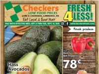 Checkers Foods (fresh for less) Flyer