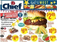Chief Supermarket (Happy labor day) Flyer