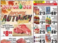 City Grocer (Awesome Autumn Specials) Flyer