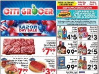 City Grocer (Labor Day Sale) Flyer