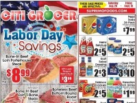 City Grocer (Labor Day Savings) Flyer