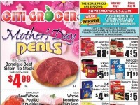 City Grocer (Mother's Day Deals) Flyer