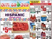 City Grocer (National Hispanic Heritage Month) Flyer