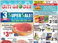 City Grocer (Super Sale) Flyer