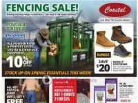 Coastal Farm (Fencing Sale) Flyer