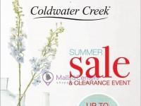Coldwater Creek (summer sale) Flyer