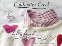 Coldwater Creek (We are Back And Better Than Ever) Flyer