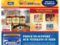 Commissary (home base savings) Flyer