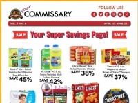 Commissary (Your Super Savings Page) Flyer