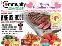 Community Markets (Happy Valentine's Day) Flyer