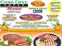 Cookie Crock Markets (Harvest of savings) Flyer