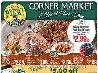 Corner Market (A Special place to shop) Flyer