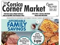 Corsica Croner market (Special Offer) Flyer