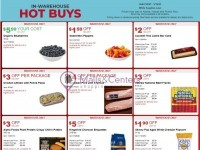 Costco (IN-WAREHOUSE HOT BUYS) Flyer
