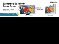 Costco (Samsung Summer sales event) Flyer