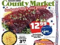 County Market (Backyard BBQs and Family) Flyer