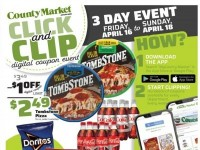 County Market (Digital Coupon Event) Flyer