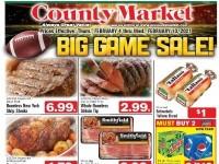 County Market Grove City (Big game Savings) Flyer