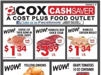 Cox Cash Saver (Special offer) Flyer