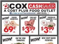 Cox Cash Saver (Weekly Specials) Flyer