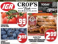 Crops Fresh Marketplace (Special Offer) Flyer