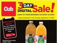 Cub Foods (3 Day Digital Sale) Flyer