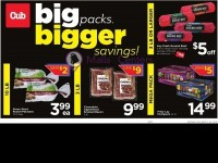 Cub Foods (Big Packs Bigger Savings) Flyer