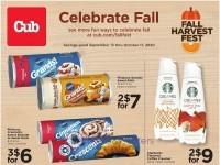 Cub Foods (Celebrate Fall) Flyer
