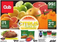 Cub Foods (Citrus Sale) Flyer