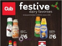 Cub Foods (Festive Dairy Favorites) Flyer