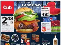 Cub Foods (Have A Happy Labor Day) Flyer