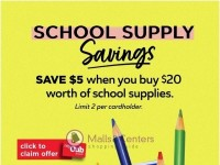 Cub Foods (School Supply Savings) Flyer