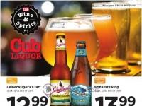 Cub Foods (liquor ad) Flyer