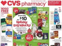 CVS Pharmacy (Holiday Extra Bucks - CA) Flyer