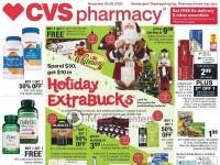 CVS Pharmacy (Holiday Extra Bucks - TX) Flyer
