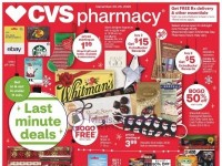 CVS Pharmacy (Last Minute Deals - CA) Flyer