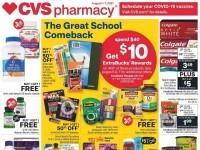 CVS Pharmacy (The Great School Comeback - TX) Flyer