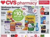CVS Pharmacy (Wellness Savings Event - NY) Flyer