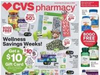 CVS Pharmacy (Wellness Savings Week - CA) Flyer