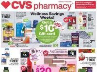 CVS Pharmacy (Wellness Savings Weeks - CA) Flyer