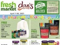 Dan's Fresh Market (April Reward Offer) Flyer